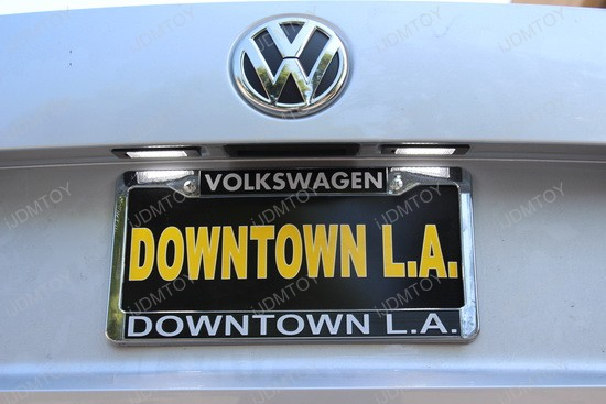 Exact Fit Volkswagen Passat Led License Plate Lights