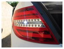LED Backup Reverse Lights Installation (Base on a Mercedes-Benz C300 W204)