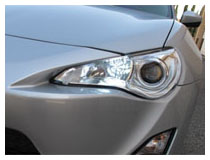 9005 LED High Beam Daytime Light Installation