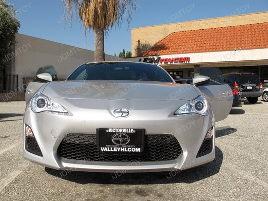 Scion FR-S 9005 LED Daytime Running Lights 7