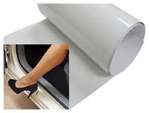 Clear Door Sill Paint Protection Scratch Film Vinyl Sheet Installation Guide