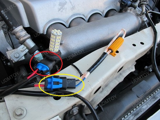 LED Daytime Running Light Decoder Set Installation 8