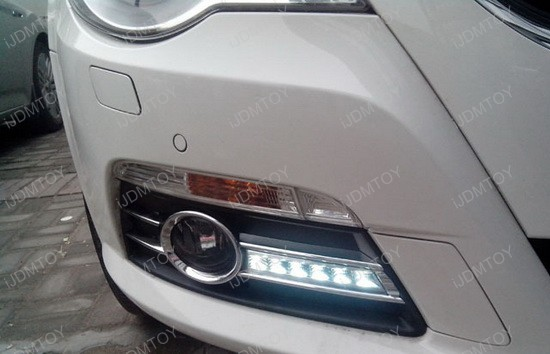 Volkswagen CC LED Daytime Running Lights 11