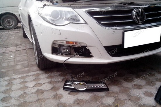 Volkswagen CC LED Daytime Running Lights 4