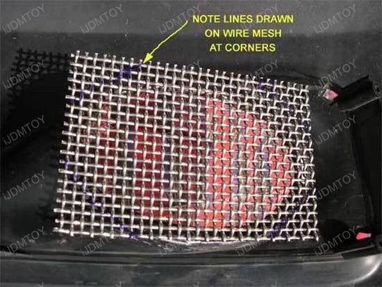 Wire Mesh for Fog Lights 3
