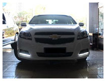 Chevrolet Malibu LED Running Lamps Installation