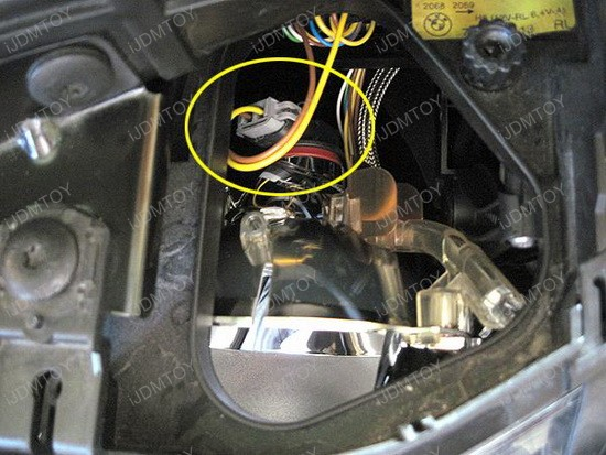 LED BMW Angel Eyes H8 Ring Marker Bulbs 12