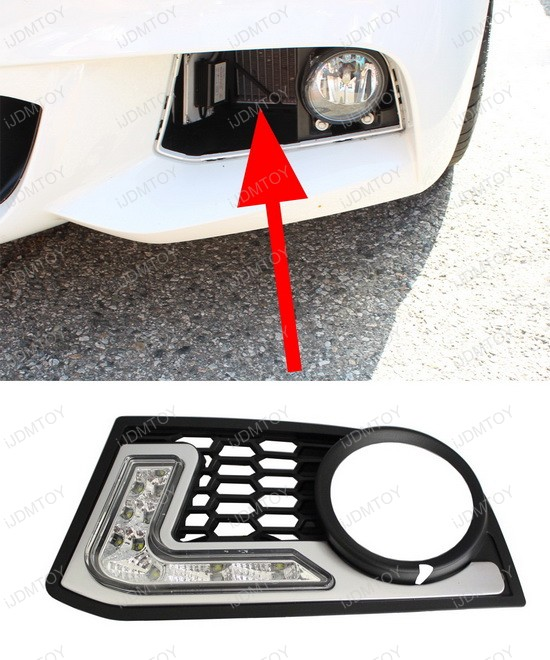 direct fit LED daytime running lights 6