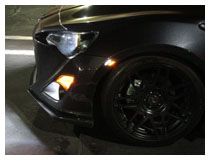 Scion FR-S LED Sider Marker Lights Installation