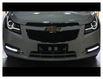 Chevrolet Cruze LED Running Lamps Installation