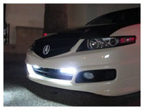 Universal Phillips Style 6-LED High Power LED Daytime Running Lights Installation