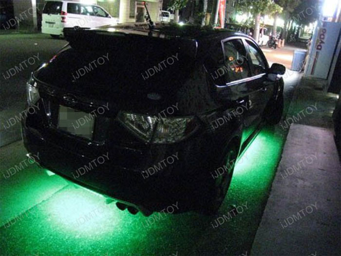 How To Install Led Under Car Lights Led Underbody Kit By