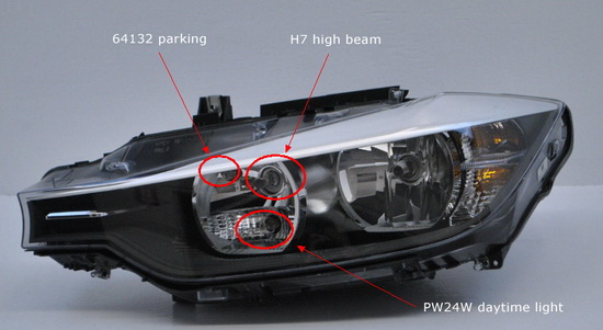 I Parking Lamp Bulb Bmw Daylight Running Lights
