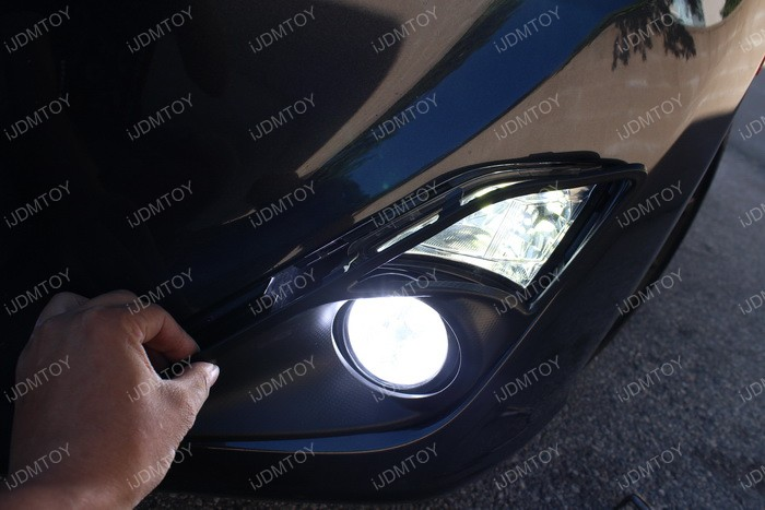LED fog light installation 11