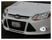 Halo LED Projector Fog Light Installation