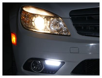 Mercedes Benz C-Class LED DRL Installation (For 70-705)