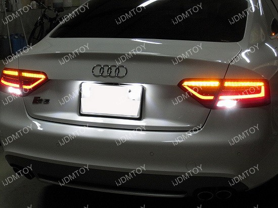 Audi S5 LED lights 02