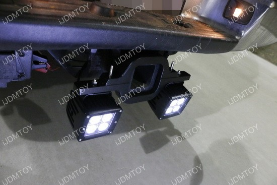 Tow Hitch Mount LED Pod Light 06