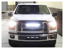 How to Install Ford F-150 Slim Fit LED Light Bar