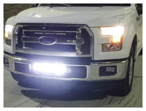 How to Install 2015-up Ford F-150 Lower Bumper LED Light Bar