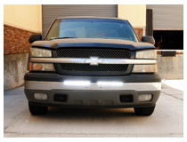 Install Chevrolet Silverado/Avalanche LED Light Bar