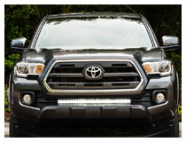 Install 2016-up Toyota Tacoma LED Light Bar