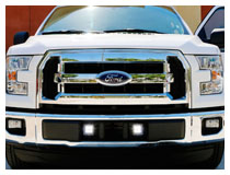 Install 2015-up Ford F-150 LED Pod Lights