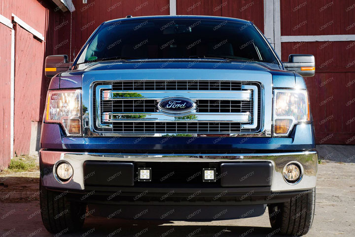 Ford F150 LED Pod Fog Light 07