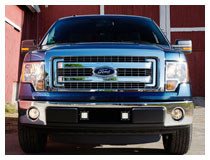 Install 2009-2014 Ford F-150 LED Pod Lights