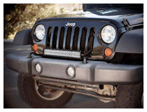 Install Jeep Wrangler LED Light Bar