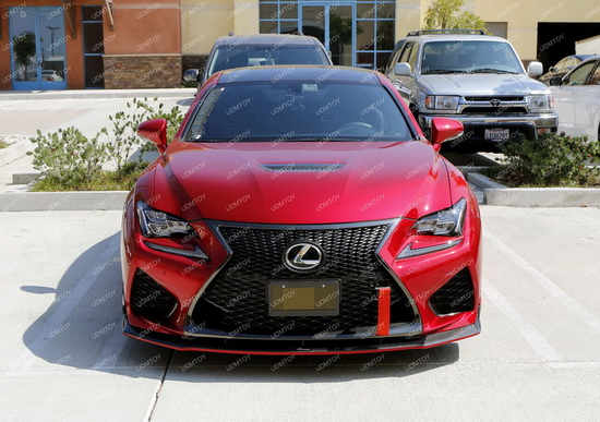 Racing Style Lexus RC Tow Strap small 01