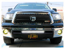 Install 2007-2013 Toyota Tundra LED Light Bar