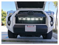 Install 2014-up Toyota 4Runner LED Light Bar