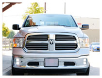 Install 2013-2016 Dodge RAM 1500 Vertical LED Fog Lights