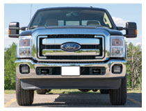 Install Ford F-250 Combo Hybrid LED Fog Lights