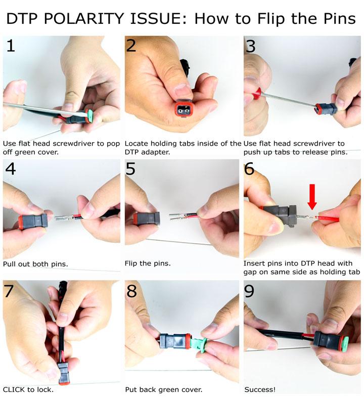 DTP adapter swap