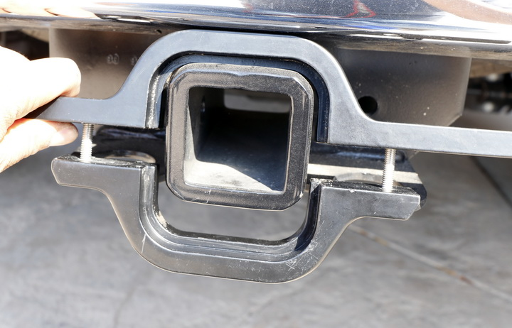 Tow Hitch Clearance Space