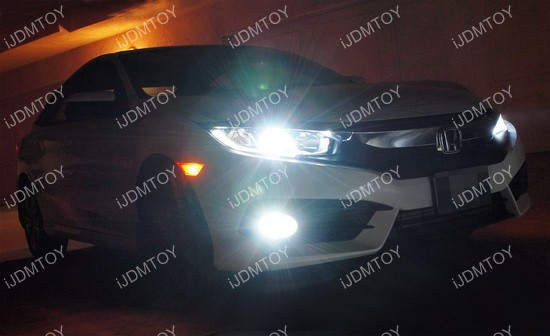 COB LED headlight bulbs