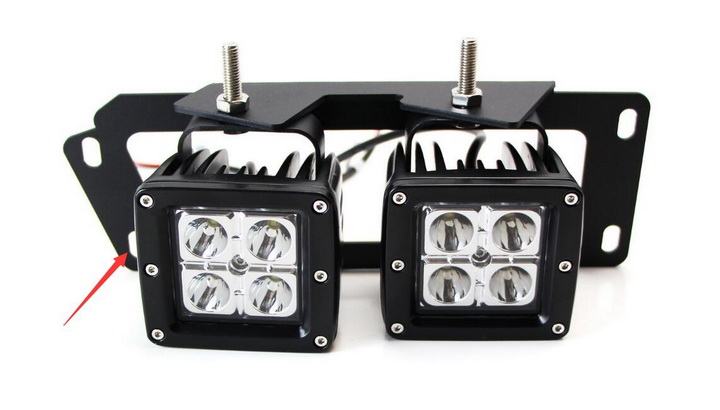Install Dodge RAM LED Fog Light Kit