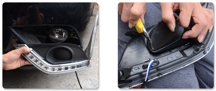 Install Nissan Versa LED DRL