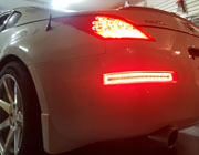 iJDMTOY Nissan 350Z LED Rear Bumper Light Installation