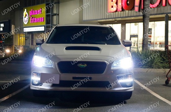 Subaru WRX JDM LED DRL Bezel
