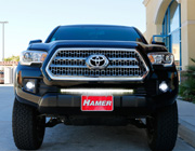 Install Toyota Tacoma LED Light Bar