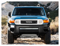 Install Toyota FJ Cruiser LED Light Bar