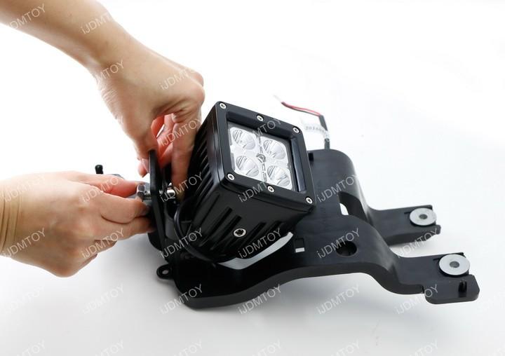 Install Ford LED Fog Lights 01