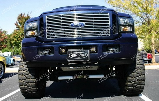 Ford F-250 LED pod light