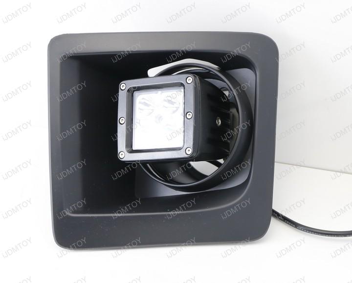 Install GMC LED Pod Light