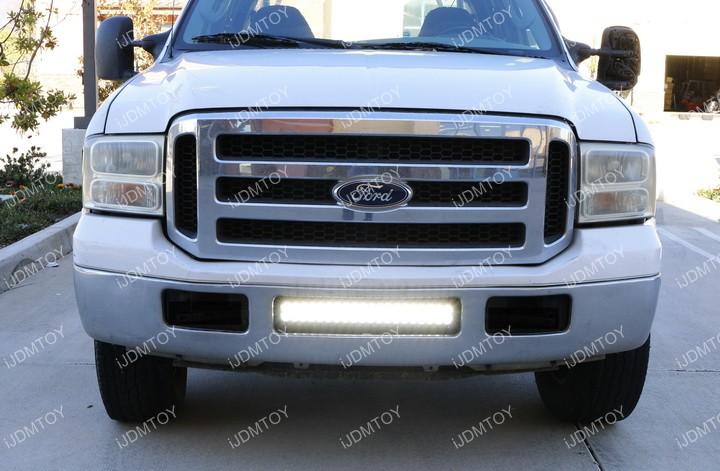 Ford F250 LED Light Bar Installation
