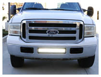 Install 2005-2007 Ford F-250 LED Light Bar