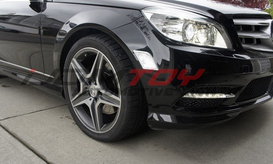 Mercedes C-Class LED Side Marker Lights